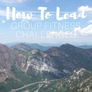 How to Lead Group Fitness Challenges